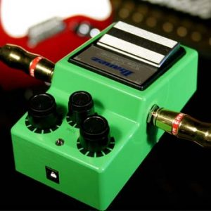 La tube screamer est indipensable au pedal board.