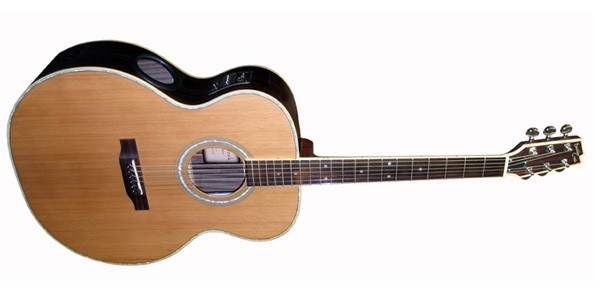 Guitare folk Boulder Creek Jumbo Body ESJ4-N