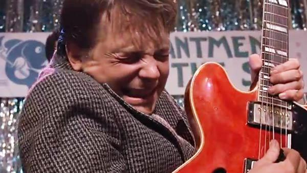 Marty Mcfly le plus grand des guitaristes