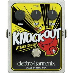 Electro-Harmonix Xo Knockout Attack Equalizer Guitar Effects Pedal top 5 des pédales equalizer