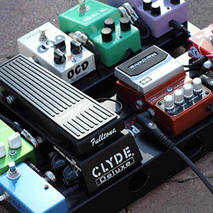 Pedal board - le coin guitariste