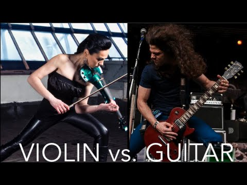 guitare vs violon