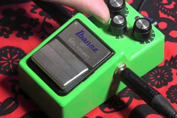 pedale overdrive tube screaming