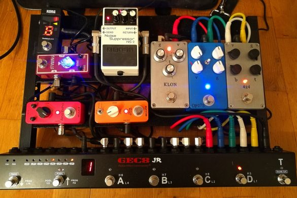 pedalboard pierre dubois guitar set up 5